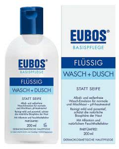 Eubos flüssig Wasch und Dusch blau refill - 400 ml