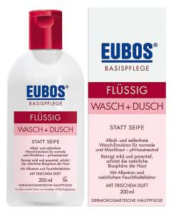 Eubos flüssig Wasch und Dusch rot - 200 ml