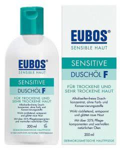 Eubos Sensitive Duschöl F - 200 ml