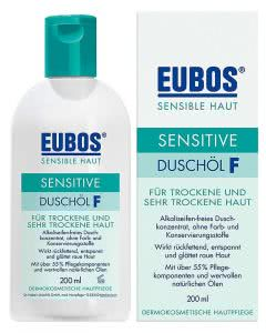 Eubos Sensitive Duschöl F refill - 400 ml