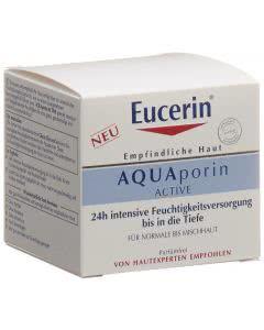 Eucerin AQUAporin Active - Feuchtigkeitspflege normale bis Mischhaut - 50 ml