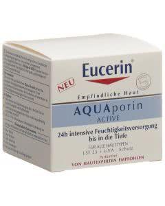 Eucerin AQUAporin Active - LSF25 + UVA-Schutz Feuchtigkeitspflege - 50ml