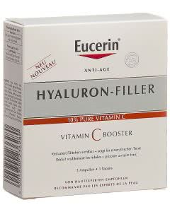 Eucerin Hyaluron-Filler Tag Vitamin C Booster - 3 x 8ml