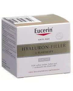 Eucerin Hyaluron-Filler + Elasticity Nachtpflege - 50ml