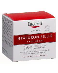Eucerin Hyaluron-Filler + Volume-Lift Tagespflege Normale- bis Mischhaut - 50ml