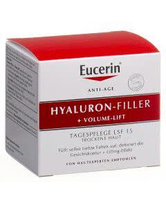 Eucerin Hyaluron-Filler + Volume-Lift Tagespflege trockene Haut - 50ml