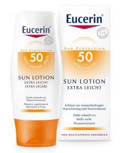 Eucerin Sun Lotion Extra Leicht LSF 50 - 150ml