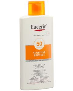 Eucerin Sensitive Protect Sun Lotion extra leicht LSF 50 - 400ml