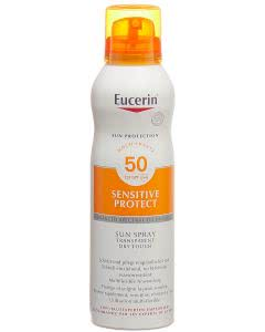 Eucerin Sensitive Protect Sun Spray Transparent Dry Touch LSF 50 - 200ml