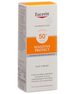 Eucerin Sensitiv Protect Sun Creme LSF 50+ - 50ml