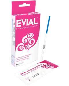Evial Schwangerschaftstest Strip - 6 Stk.