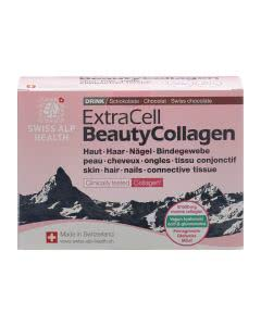 ExtraCell Beauty Collagen Drink Chocolate - 20 x 15 g