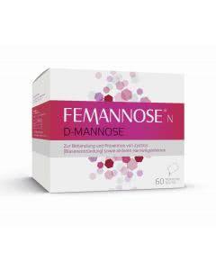 Femannose N D-Mannose 2000mg -  60 Stk.