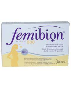 Femibion 800 Folsäure plus - 60 Tabl.