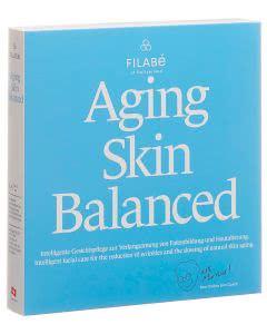 Portofrei Filabe Aging Skin Balanced Gesichtspflegetuch - Monatspackung 28 Stk.