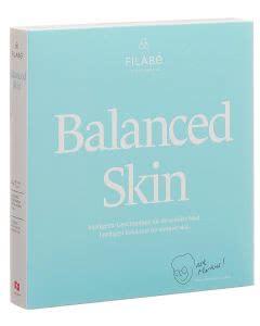 Filabe Balanced Skin - Gesichtspflegetuch - Monatspackung - 28 Stk.