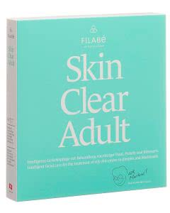 Portofrei Filabé Skin Clear ADULT unreine Haut Gesichtspflegetuch - Monatspackung 28 Stk.