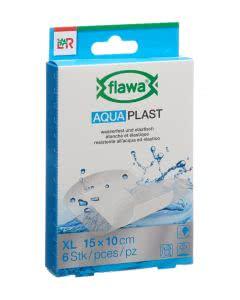 Flawa Aqua Plast XL - 10 x 15cm - 6 Stk.