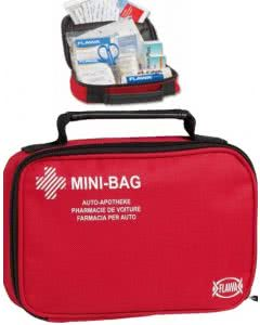 Flawa Autoapotheke Mini Bag rot