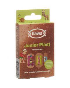 Flawa Junior Plast Kids Pinocchio - 16 Stk.