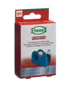 Flawa Porefix Heftplaster 2.5cm x 5m Dispenser