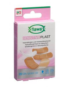 Flawa Sensitive Plast Schnellverband 3 Grössen assortiert - 20 Stk.