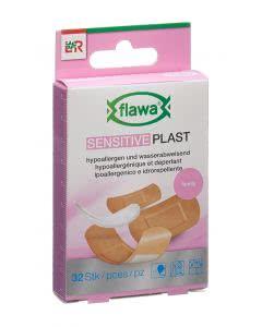 Flawa Sensitive Plast Schnellverband Family assortiert - 32 Stk.