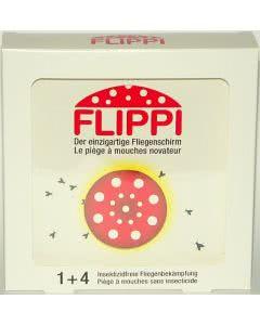 Flippi - der Fliegenfänger-Schirm - Set für 4 Monate
