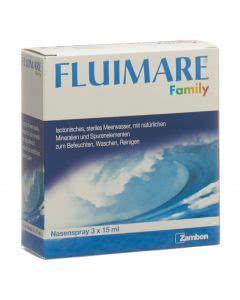 Fluimare Nasenspray Family - 3 x 15ml