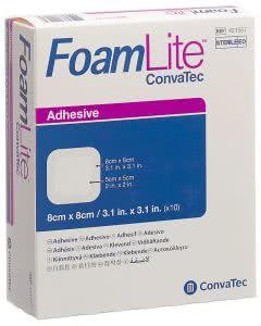Foam Lite Convatec Silikom-Schaum 8 x 8cm - 10 Stk.