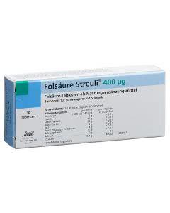 Streuli Folsäure 400mcg - 100 Stk.