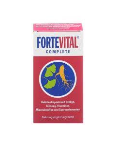 Fortevital Complete Ginseng/Ginkgo/Vitamine/Mineralien - 90 Kaps.