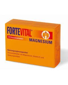 Fortevital Magnesium mit Vitamin E - Brausetabletten - 20 Stk