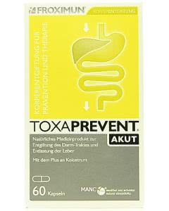 Froximun Toxaprevent AKUT Colostrum - 60 Kaps.