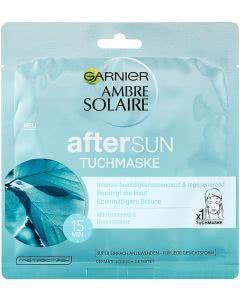 Garnier Ambre Solaire - After Sun Tuch Maske - 15 Minuten