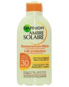 Garnier Ambre Solaire - Hoher Schutz LSF 30 Milch - 200ml