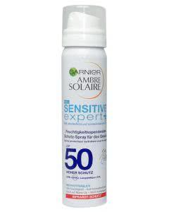 Garnier Ambre Solaire - Sensitive expert+  LSF 50 Schutzspray für das Gesicht - 75ml