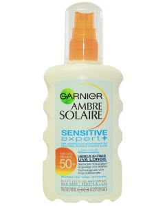 Garnier Ambre Solaire - Sensitive expert+  LSF 50+ Lotion Spray - 200ml