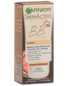 Garnier BB Cream Miracle Skin Perfector 5 in 1 mittlere Haut - 50ml