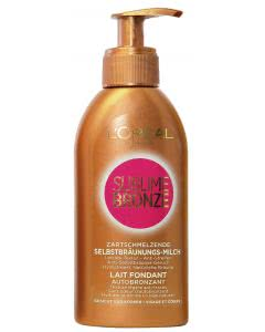 L'Oreal Sublime Bronze - Selbstbräunungsmilch - 150ml