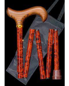 Gastrock Faltstock 78-86cm 5f Alu Birdeye Derby - 1 Stk.