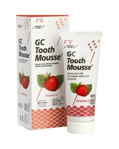 GC Tooth Mousse (Zahncreme) Erdbeere - 40g