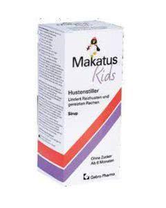 Makatus Kids Hustenstiller Sirup - 180 ml