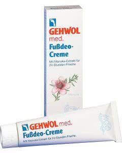 Gehwol med Fussdeo-Creme - 125ml