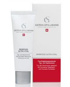 Gerda Spillmann - Skinfood Ultra Vital Creme - Vitalisierende Feuchtigkeitscreme - 50ml
