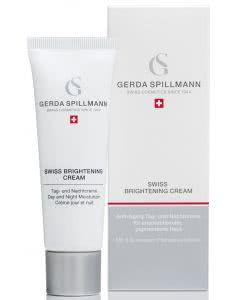 Gerda Spillmann - Swiss Brightening Cream - Aufhellende Anti-Aging Feuchtigkeitscreme - 50ml