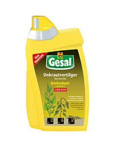 Gesal Unkrautvertilger SUPER-RAPID Konzentrat - 800ml