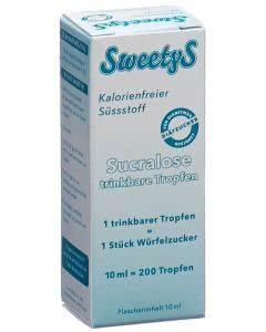 Goodness SweetyS Sucralose Süssstoff - 10ml