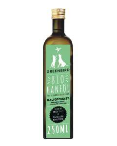Greenbird Bio Hanföl für Tiere - 250 ml