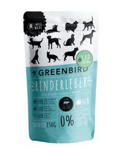 Greenbird Rinderleber Snack mit CBD - 150 g